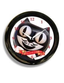 12 Round Smile Clock